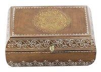 Wooden Vintage Look Jewelry Box