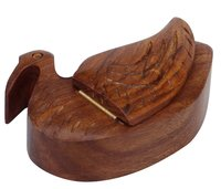 Wooden Duck  Jewelry And Trinket Box