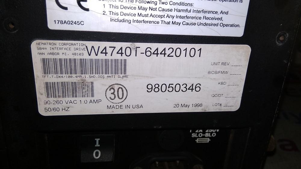 SIDEL HMI W4740T-64420101
