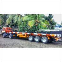 Flatbed Triple Axle Trailer