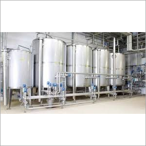 Stainless Steel CIP Tank