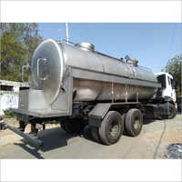 Dairy Milk Storage Tanker