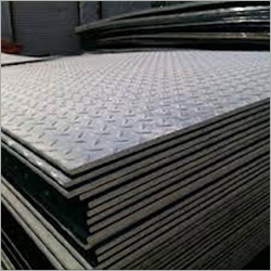 Stainless Steel HR Chequered Plates