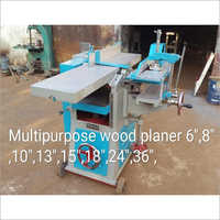 Multipurpose Wood Planer Machine