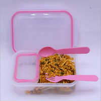 600ml Transparent Lock And Seal Lunch Box