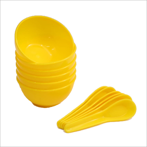 Plastic Soup Bowl Set