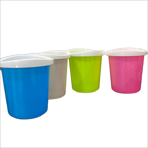 Colored Plastic Container Mug