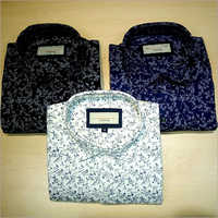 Mens Casual Wear Printed Shirt