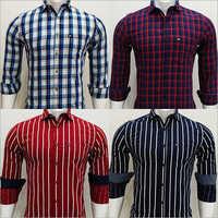 Mens Check Full Sleeves Shirt