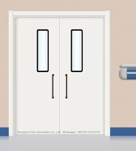 Hospital Corridor Door