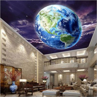 Baffle Luxury PVC Stretch Ceiling Film