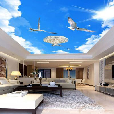 Unique And Elegant Interior Design Stretch Ceiling Film