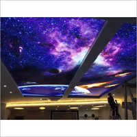 Night Sky PVC Stretched Ceiling Film