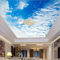 3D Transparent PVC Ceiling FilmDesign