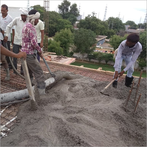 Industrial Ready Mix Concrete Material