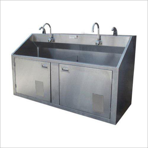 Two Bay Scrub Sink Station