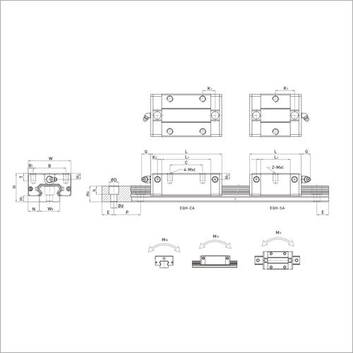 EHR Series Linear Guideways