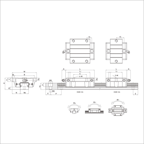 ERL Series Linear Guideways