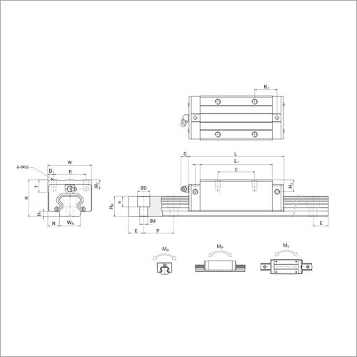 HRH Series Linear Guideways
