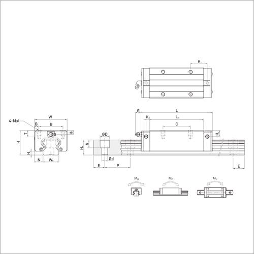 HRL Series Linear Guideways