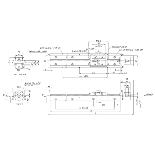 KK100 Series Precision Linear Module