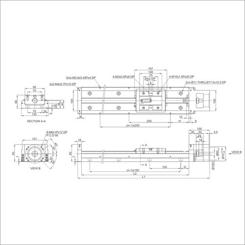 KK130 Series Precision Linear Module