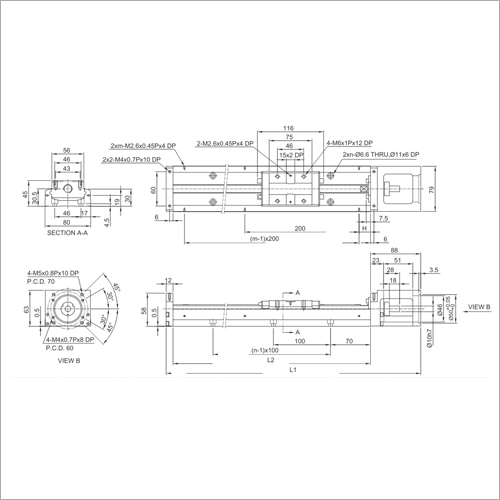 KK80 Series Precision Linear Module