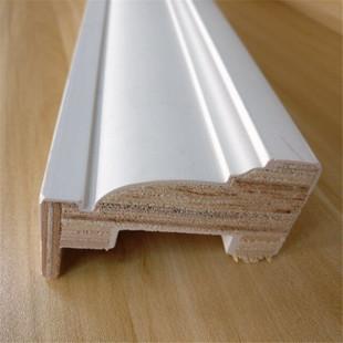 Solid pine Wood Skirting Baseboard Moulding