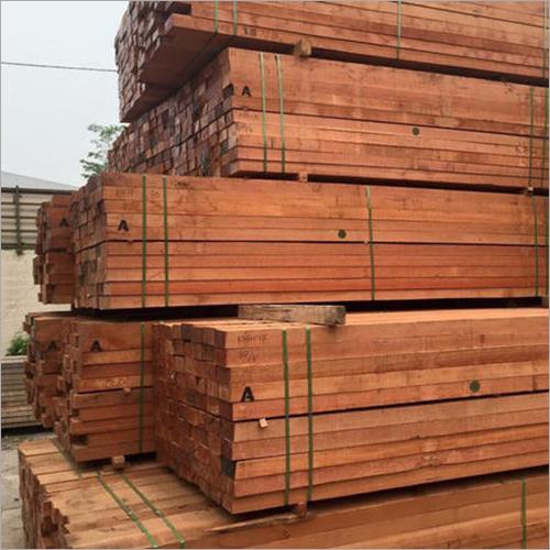 Brown Teak Wooden Plank