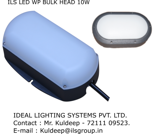 Led Wp Bulk Head Light 10w