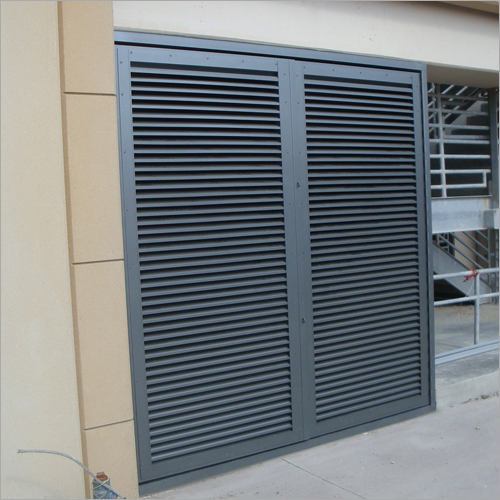 Fixed Louver Doors