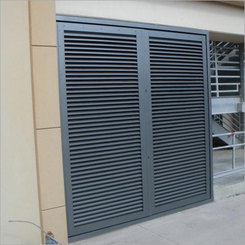 Fixed Louver Doors