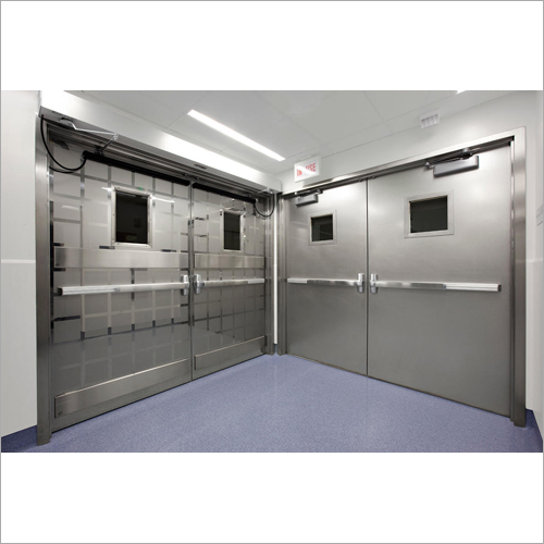 Industrial Stainless Steel Doors