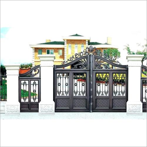 Steel Fencing Entrance Gate