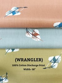 WRANGLER 100% cotton discharge print