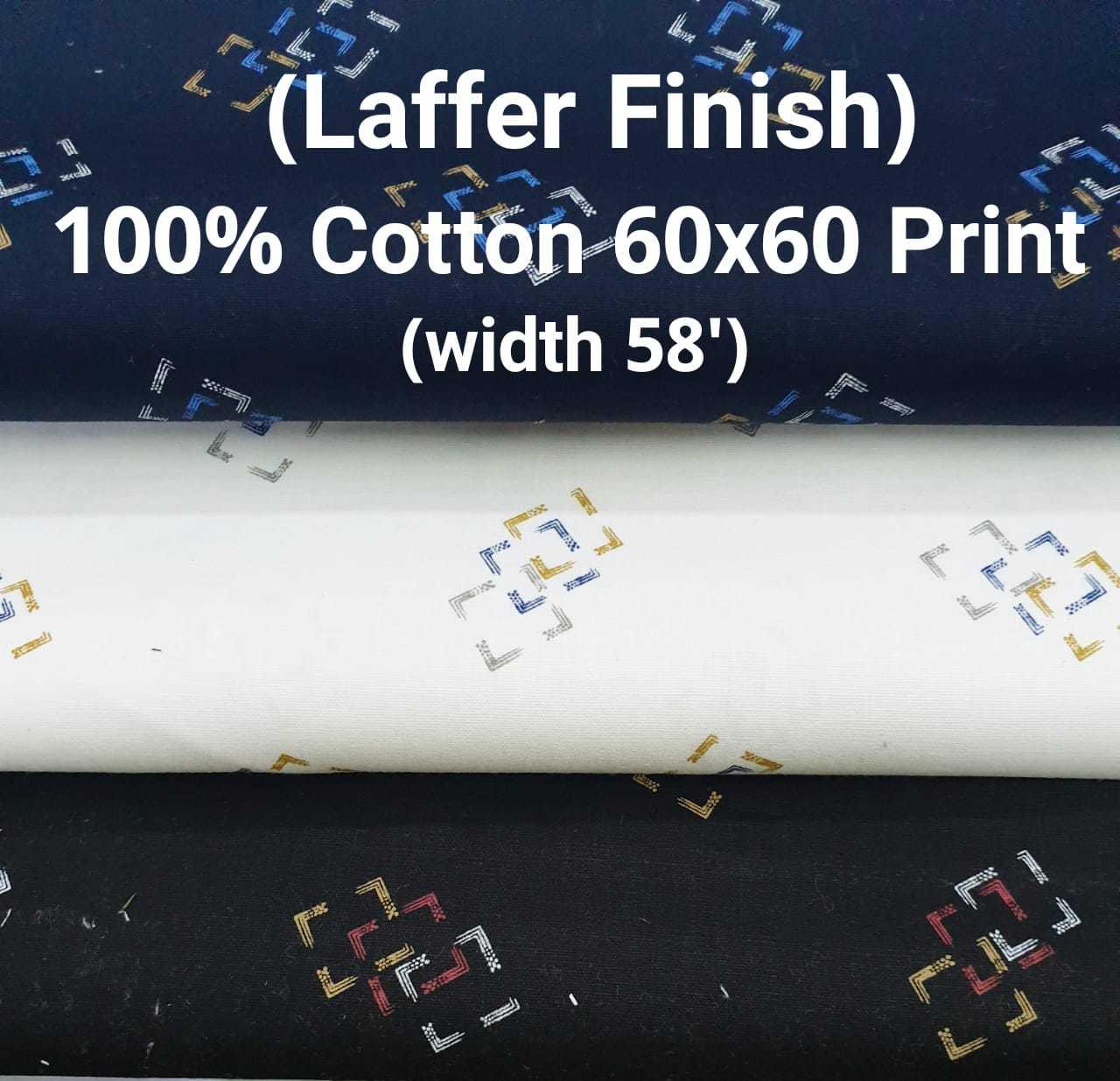 LAFFER FINISH 100% cotton 60*60 discharge print