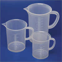 Global Laboratory Plastic Measuring Jug
