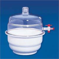 Vacuum Polypropylene and Polycarbonate Desiccator