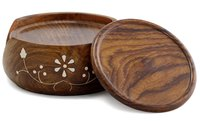 Wooden Coasters Set Of 6