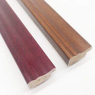 SOLID WOOD MOULDINGS WITH CONSTRUCTION MATERIALS