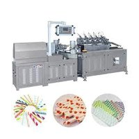 Spiral Paper Straw Making Machine