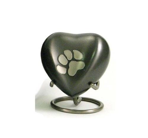 Odyssey Paw Print Heart Keepsake