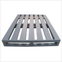 4 Way Double Deck Steel Pallets