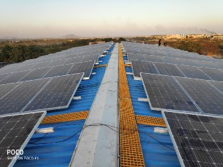 Renewable Solar Power Plant