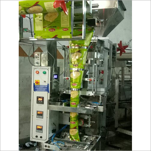 Full Pneumatic Chips Pouch Machine