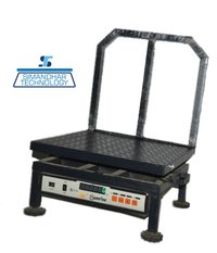 Chequered Mobile Platform Scale