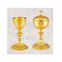 Brass Chalice & Ciborium