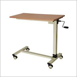 Adjustable Overbed Hospital Table