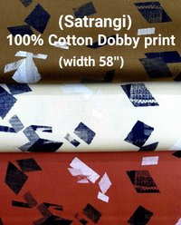 SATRANGI 100% cotton dobby print