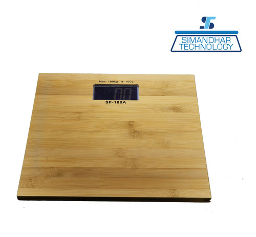 Personal Weighing Scale Wooden